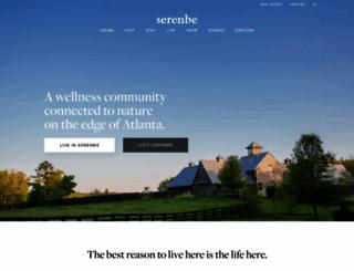 serenbe.com screenshot