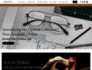 serengeti-eyewear.com screenshot