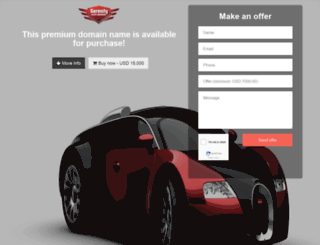 serenityautobrokers.com screenshot