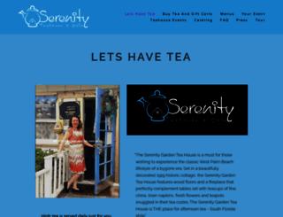 serenitygardentea.com screenshot