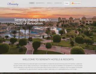 serenityhotelsegypt.com screenshot