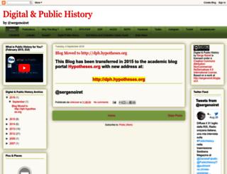 sergenoiret.blogspot.it screenshot