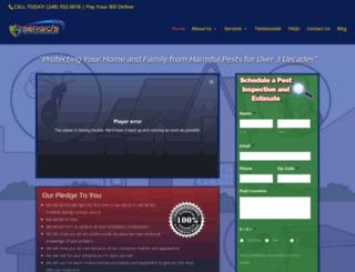 sergiospestcontrol.com screenshot