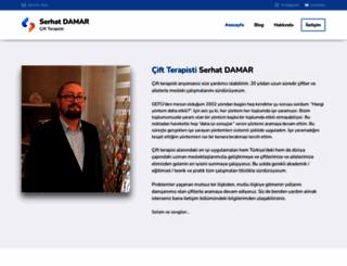 serhatdamar.com screenshot