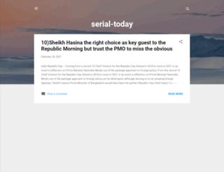 serial-today.blogspot.com.au screenshot