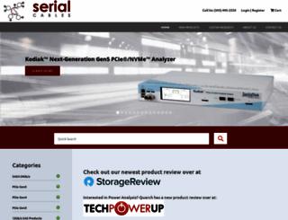 serialcables.com screenshot