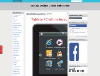 seriale-gratis.blogspot.com screenshot