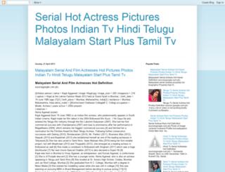 serialhotactresspictures.blogspot.in screenshot