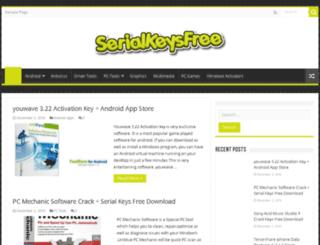 serialkeysfree.xyz screenshot