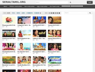 serialtamil.org screenshot