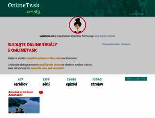 serialy.onlinetv.sk screenshot