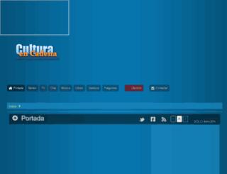 series-renovadas-2013-2014.culturaencadena.com screenshot