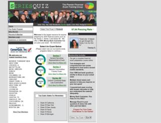 seriesquiz.com screenshot