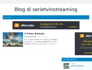 serietvinstreaming.altervista.org screenshot