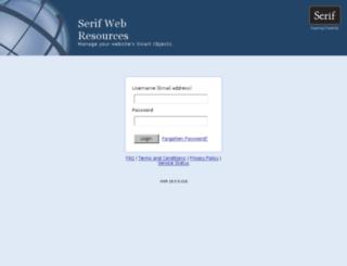 serifwebresources.com screenshot