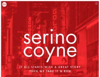 serinocoyne.com screenshot