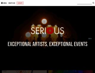 serious.org.uk screenshot