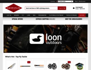 seriousfishing.com screenshot