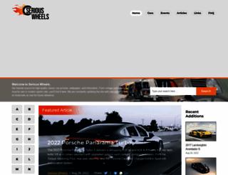 seriouswheels.com screenshot