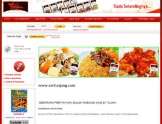 seritunjung.com screenshot
