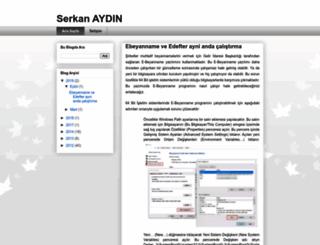 serkanaydin.com.tr screenshot