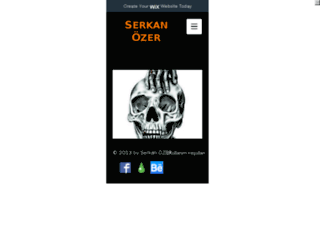serkanozer.com screenshot