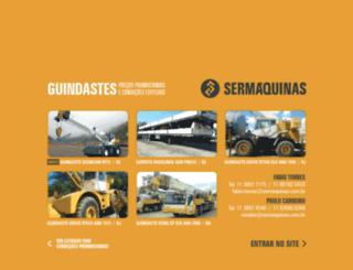 sermaquinas.com.br screenshot