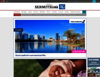 sermitsiaq.ag screenshot