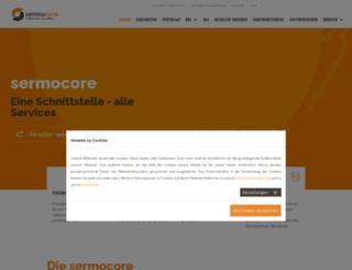 sermocore.com screenshot
