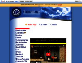 sermoni.net screenshot