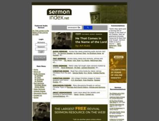 sermonindex.net screenshot