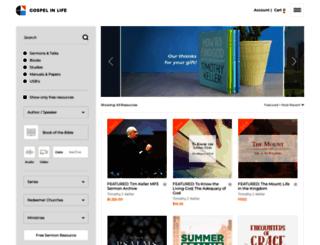 sermons.redeemer.com screenshot