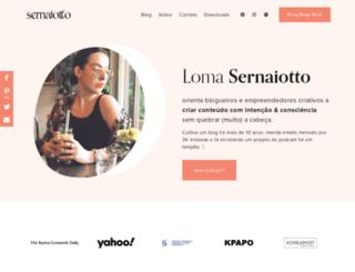 sernaiotto.com screenshot