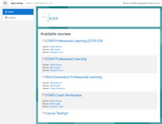 serponline.org screenshot