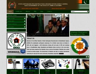 serra.gov.pk screenshot