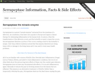 serrapeptase.blog.com screenshot