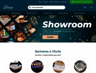 serrasbanheiras.com.br screenshot