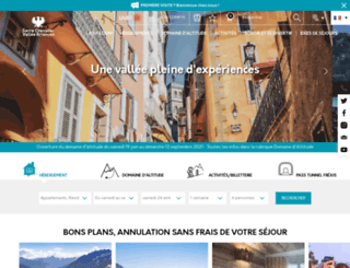 serre-chevalier.com screenshot