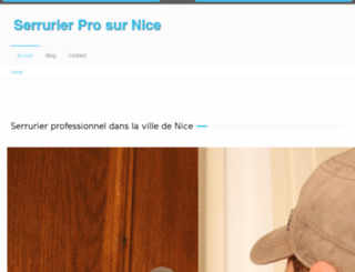 serrurier-nice-pro.fr screenshot