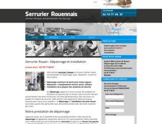 serrurier-rouennais.com screenshot