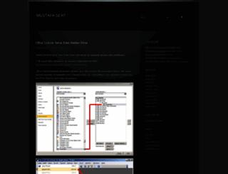 sertmustafa.wordpress.com screenshot