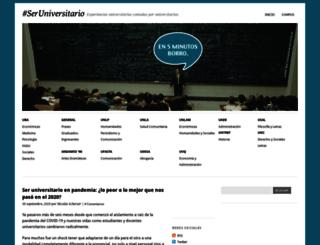 seruniversitario.com screenshot