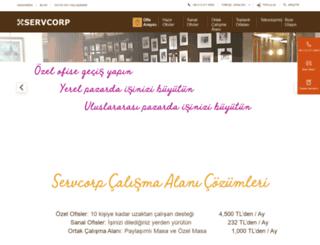 servcorp.com.tr screenshot