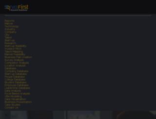 servefirst.co.in screenshot