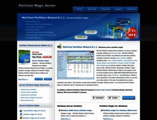 server-partition-magic.com screenshot