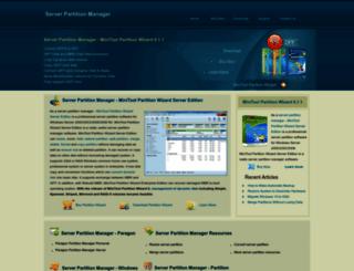 server-partition-manager.com screenshot