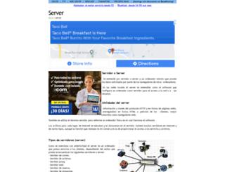 server.com.es screenshot