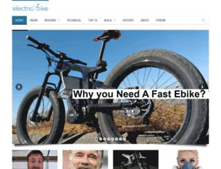 server.electricbike.com screenshot