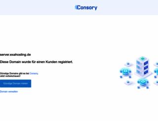 server.exahosting.de screenshot