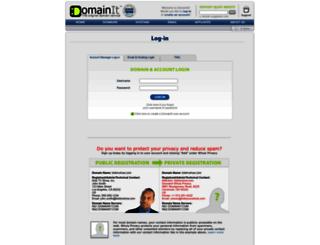 server1.domainit.com screenshot